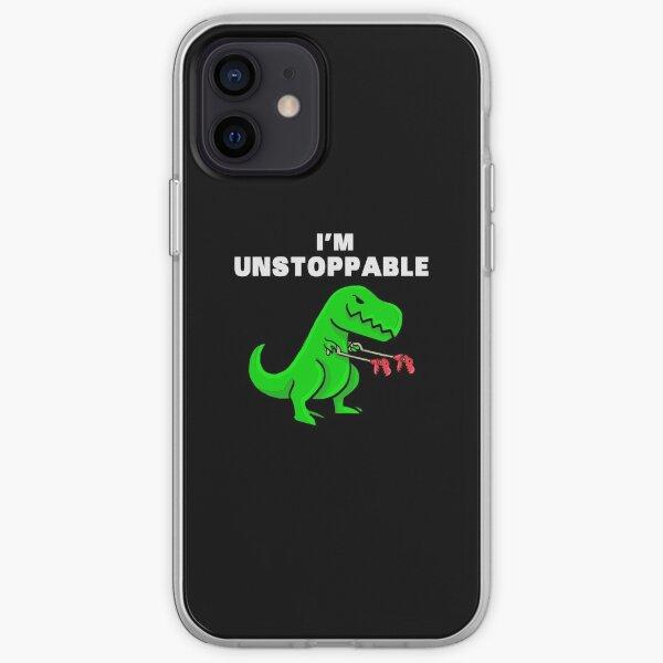 I AM UNSTOPPABLE Dinosaur T-Rex Tyrannosaurus iPhone Soft Case