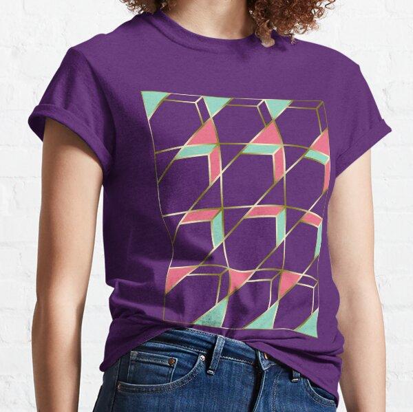 Ultra Deco 1 #redbubble #ultraviolet #artdeco Classic T-Shirt