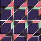 Ultra Deco 1 #redbubble #ultraviolet #artdeco by designdn
