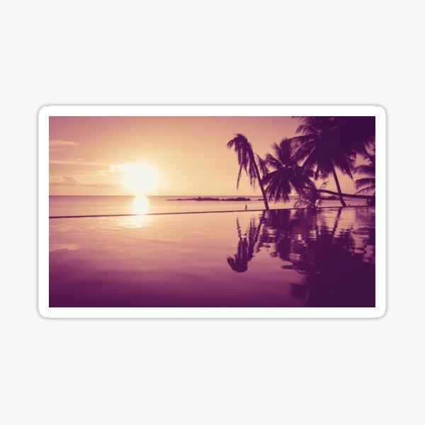 Paradise sunset Thailand Sticker