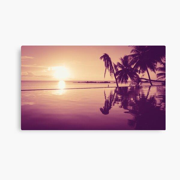 Paradise sunset Thailand Canvas Print