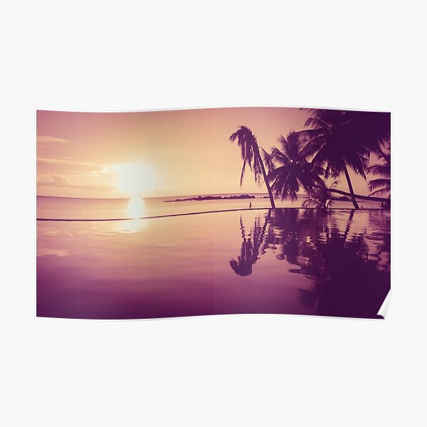 Paradise sunset Thailand Poster