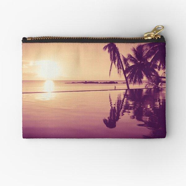 Paradise sunset Thailand Zipper Pouch