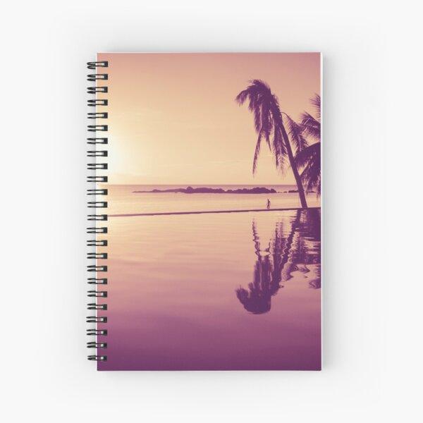 Paradise sunset Thailand Spiral Notebook