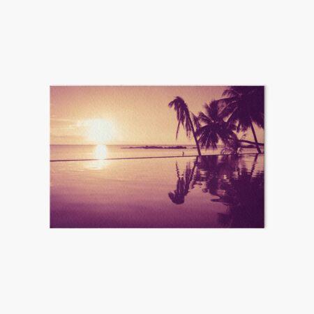 Paradise sunset Thailand Art Board Print