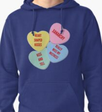 More knock off Lil Xan Valentine's Day merch Pullover Hoodie