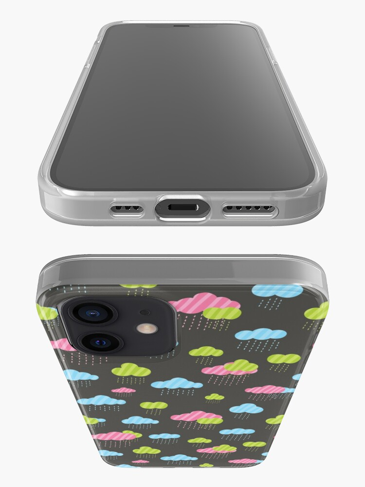 Alternate view of Rainy Clouds iPhone Case & Cover