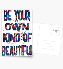 be your own kind of beautiful-waiting Postcards