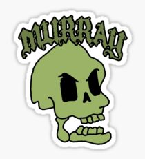Murray! The laughing skull Sticker