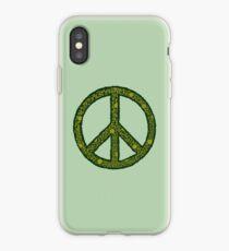 Peace sign iPhone Case