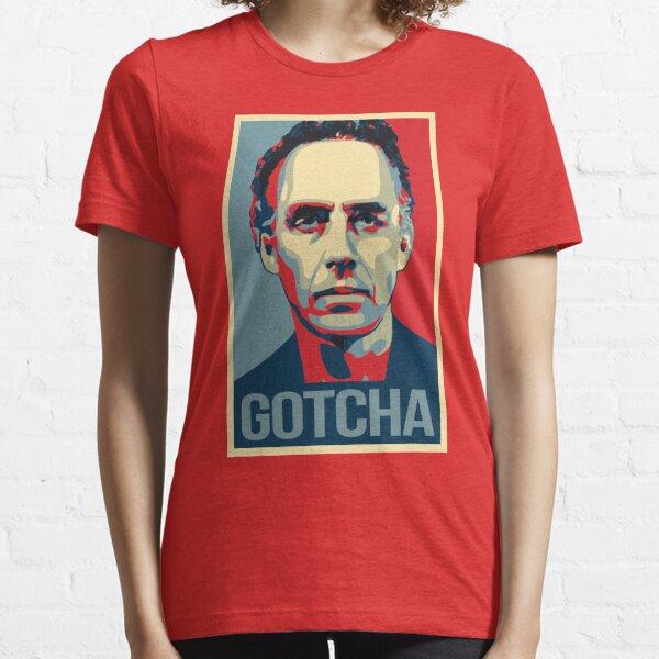 Gotcha - Jordan Peterson Canadian Psychologist Cathy Newman Debate Essential T-Shirt