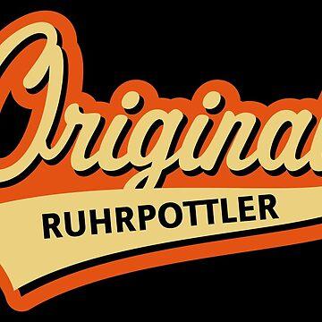Original Ruhrpottler (Ruhrpott / Ruhrgebiet / 3C) by MrFaulbaum