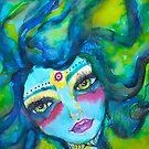 Green Mermaid by MarleyArt123