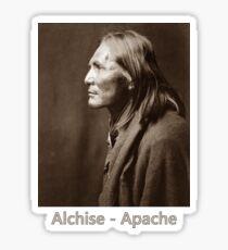 Alchise, Apache - Vintage Photographic Portrait Sticker