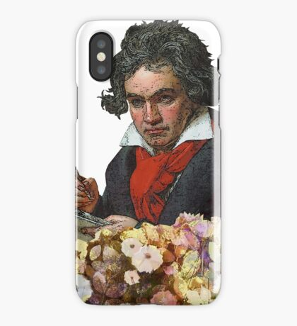 Ludwig von Beethoven Grunged II iPhone Case