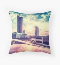 Business sunrise Throw Pillow