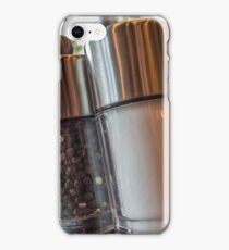 Salt and Pepper iPhone Case/Skin