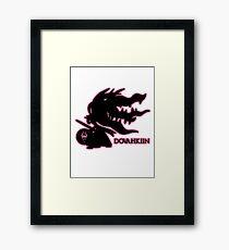 Pokémon Dovahkiin - Megamawile Framed Print