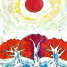 Three Suns by Wojtek Kowalski