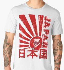Vintage Japan Rising Sun Kanji T-Shirt Men's Premium T-Shirt