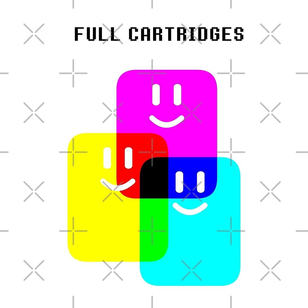 CMYK Full Cartridges   Emoji Version by Elkin Grueso