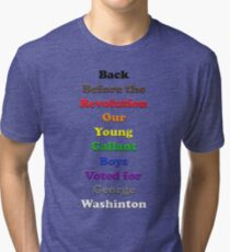 Resistor Code 20 - Back Before... Tri-blend T-Shirt