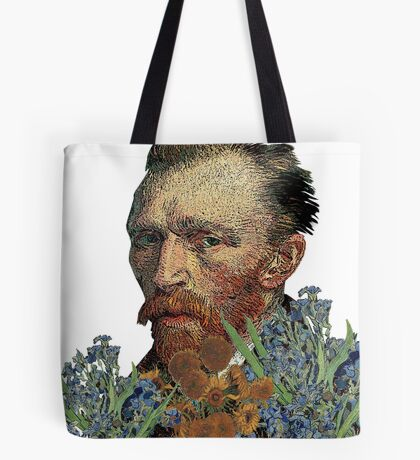 van Gogh Mashed Tote Bag