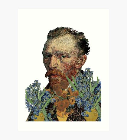 van Gogh Mashed Art Print