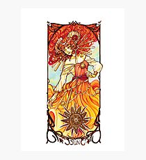 Sun Tarot - Youtube artists Collective Photographic Print