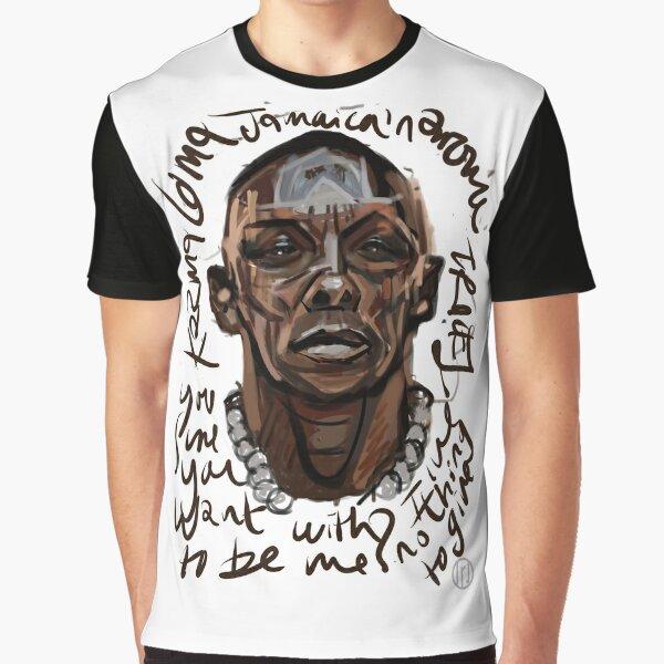 Graffiti portrait of Tricky Graphic T-Shirt