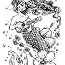 Ukulele Mermaid by Bryan Collins