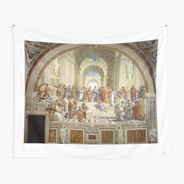 The School of Athens, Italian Renaissance, artist, Raphael. Tapestry
