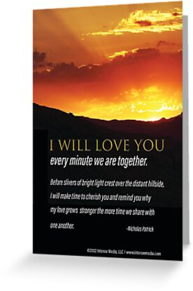 I Will Love You Every Minute by IntenseMedia