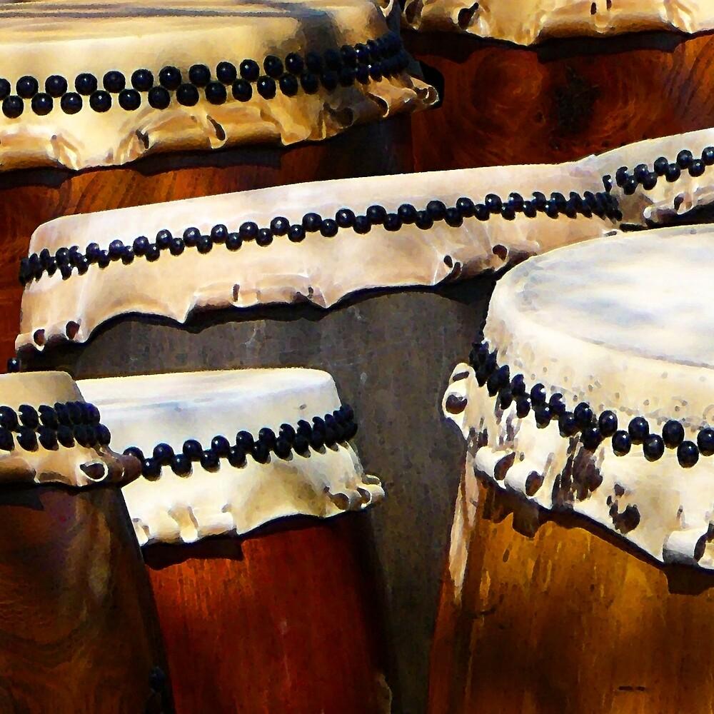 Japanese Drums by Susan Savad
