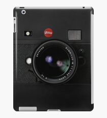 Classic Retro Old Vintage Black doff Camera iPad Case/Skin