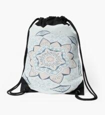 Jin Blue Mandala  Drawstring Bag