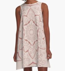 Jin Pink Mandala A-Line Dress