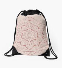 Jin Pink Mandala Drawstring Bag