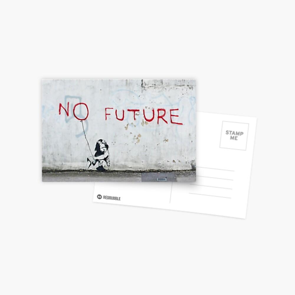 Banksy, sin futuro Postal