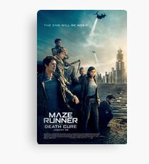 maze runner the death cure Canvas Print