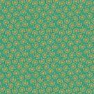Boho Emerald Floral by Gwen DeGroff