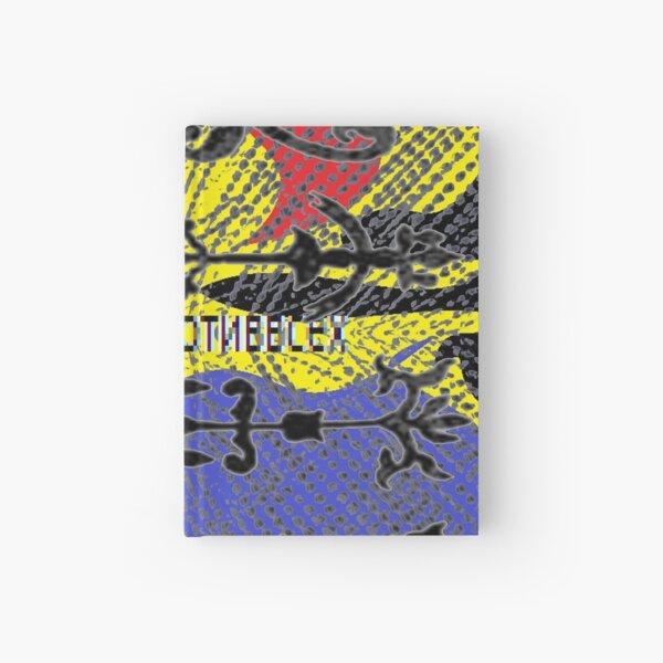 decoration, ornament, adornment, dressing, ornamentation, embellishment, pattern, design, tracery, weave, steampunk Hardcover Journal