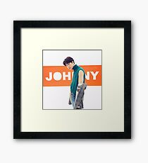 NCT 2018 JOHNNY Framed Print