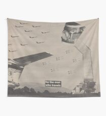 Fighter Flight Wall Tapestry