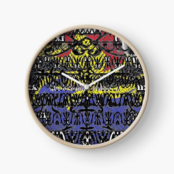 decoration, ornament, adornment, dressing, ornamentation, embellishment, pattern, design, tracery, weave, steampunk Clock