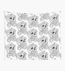 Tentacle Skull Wall Tapestry