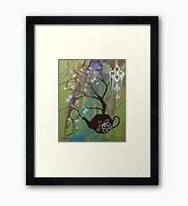 Tea Blossom Framed Print