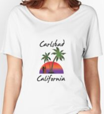 Carlsbad California Women's Relaxed Fit T-Shirt