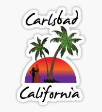 Carlsbad California Sticker