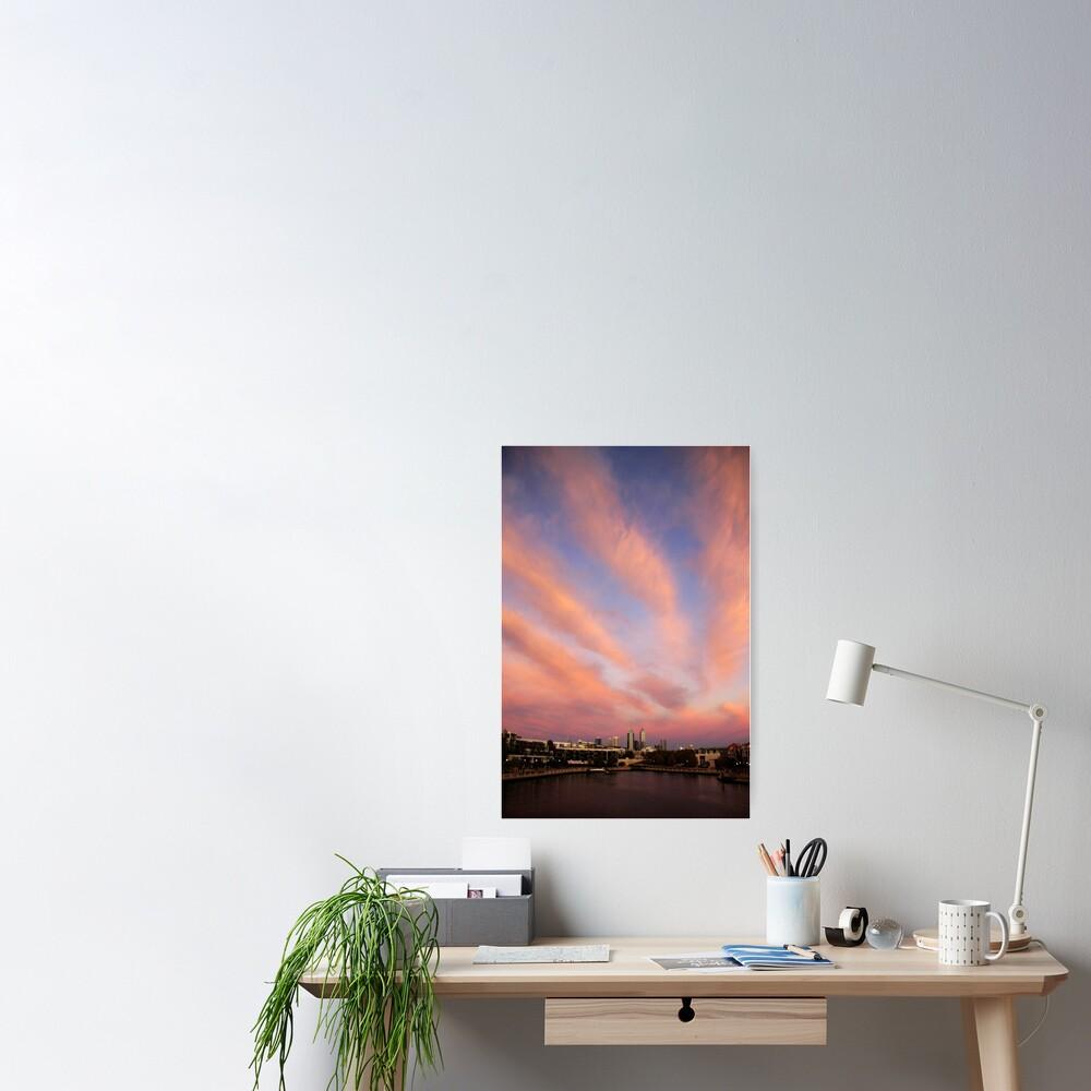 Perth City Skyscape Poster